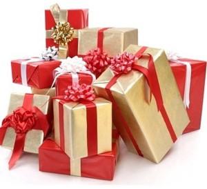 Картинка с новогодними подарками